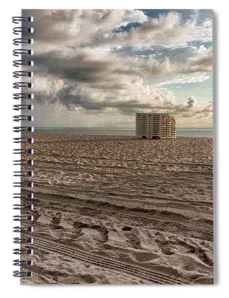 Morning In Miami Spiral Notebook by Alison Frank