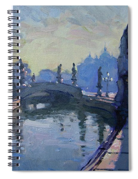Morning In Padua Italy Spiral Notebook