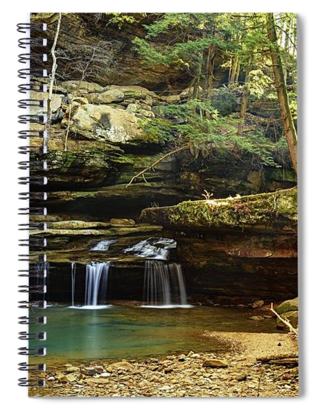 Morning In The Gorge Spiral Notebook