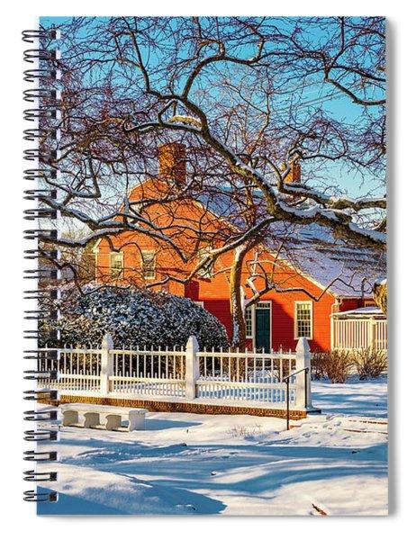 Morning Light, Winter Garden. Spiral Notebook