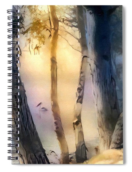 Morning On The Murray Spiral Notebook