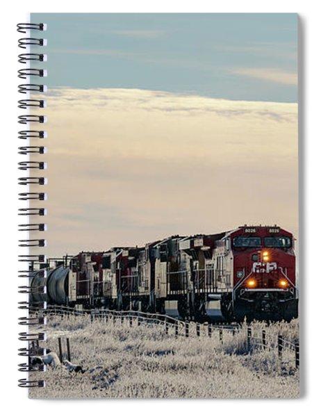 Morning Run Spiral Notebook