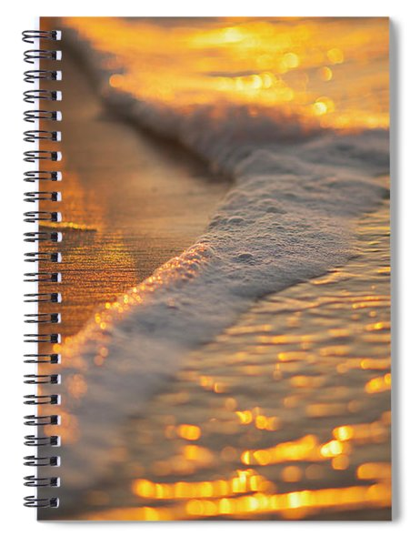 Morning Shoreline Spiral Notebook