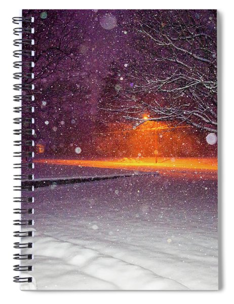 Morning Snow Spiral Notebook