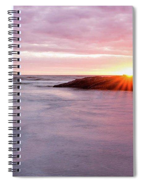 Morning Sun Good Harbor Spiral Notebook