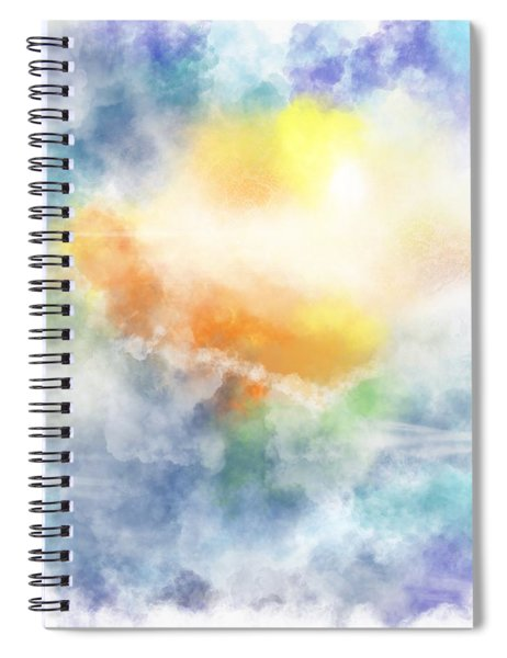 Morning Sun Spiral Notebook