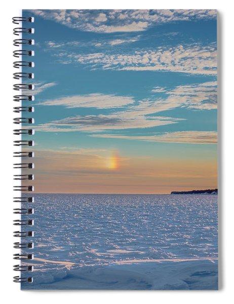 Morning Sundog Spiral Notebook