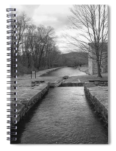 Morris Canal And Lock - Waterloo Village Spiral Notebook