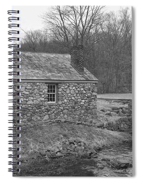 Morris Canal Lock House - Waterloo Village Spiral Notebook