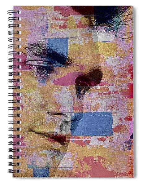 Morrissey Around Town Spiral Notebook