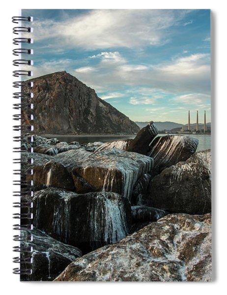 Morro Rock Breakwater Spiral Notebook