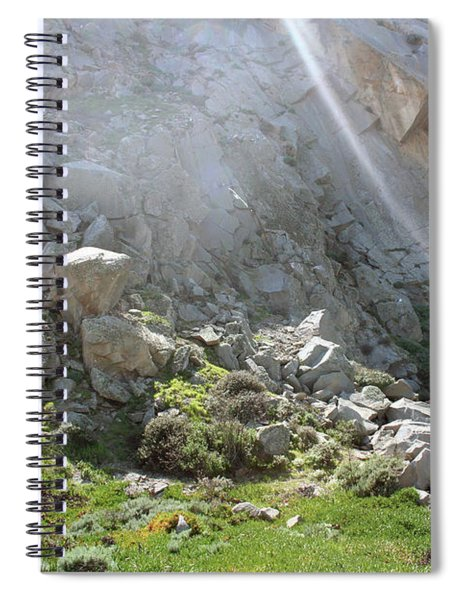 Morro Rock Cluster Spiral Notebook