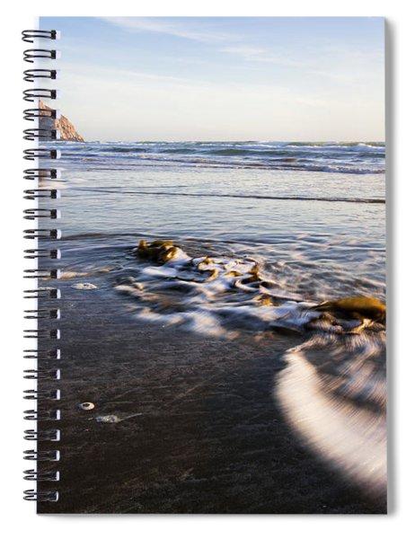 Morro Rock Ebb Tide Spiral Notebook