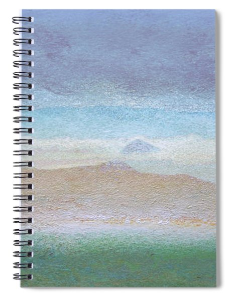 Morro Rock View From Hwy 46 Spiral Notebook