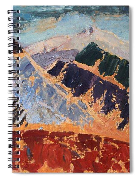 Mosaic Canigou Spiral Notebook