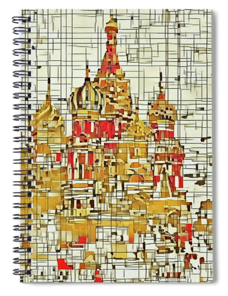 Moscow Spiral Notebook
