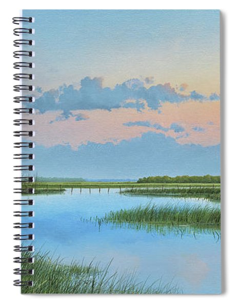 Mosquito Lagoon Spiral Notebook