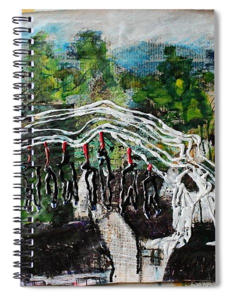 Mother Money Begins To Collapse Spiral Notebook