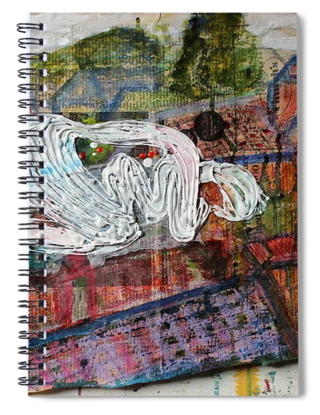 Mother Money Hibernates To The Detriment Of Us All Spiral Notebook