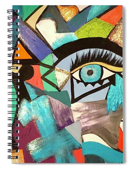 Motley Eye 4 Spiral Notebook