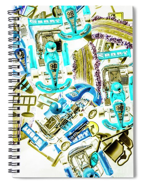 Motorised Bedlam Spiral Notebook