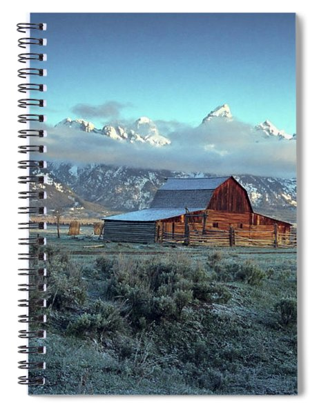 Moulton Barn 3 Spiral Notebook