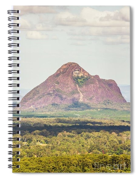 Mount Beerwah Spiral Notebook