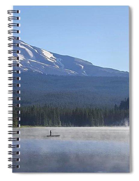 Mount Hood Spiral Notebook