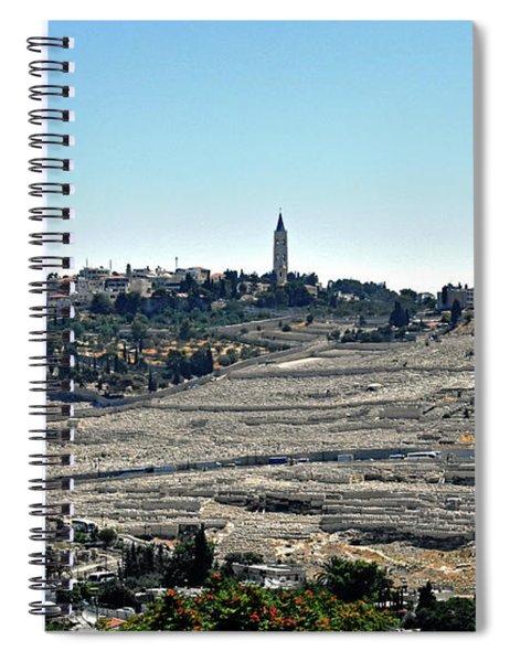 Mount Of Olives Spiral Notebook
