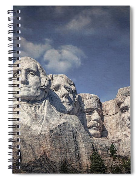 Mount Rushmore I Spiral Notebook