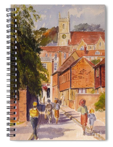 Mount Street, Hythe, Kent Spiral Notebook
