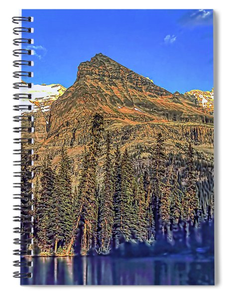 Mount Yukeness Spiral Notebook