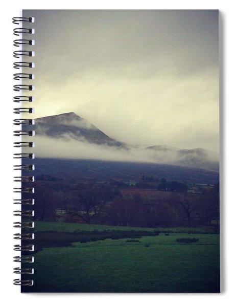 Mountain Cloud Spiral Notebook