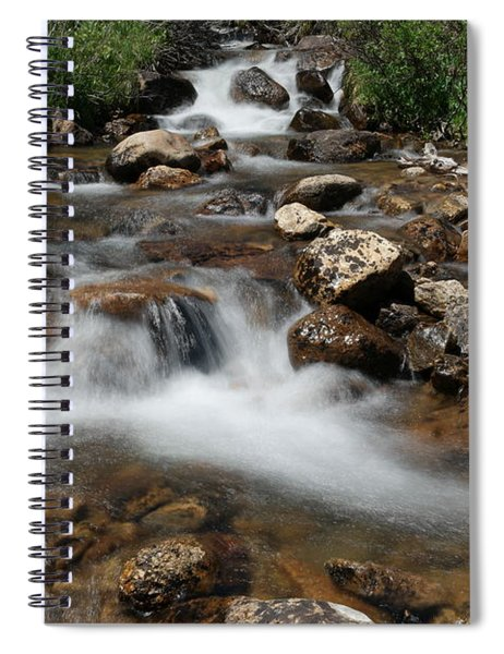 Mountain Fed Stream Spiral Notebook