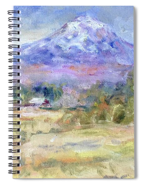 Mountain Glory Spiral Notebook