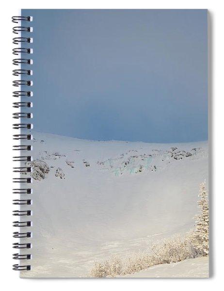 Mountain Light, Tuckerman Ravine Spiral Notebook