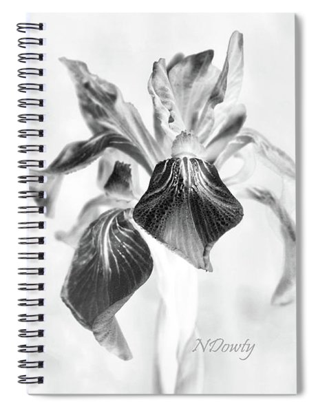 Mountain Lily Spiral Notebook