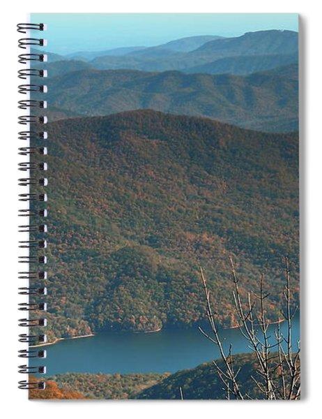 Mountain Ridges Spiral Notebook