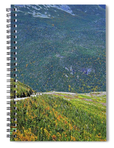 Spiral Notebook featuring the photograph Mountain Road by Patti Whitten