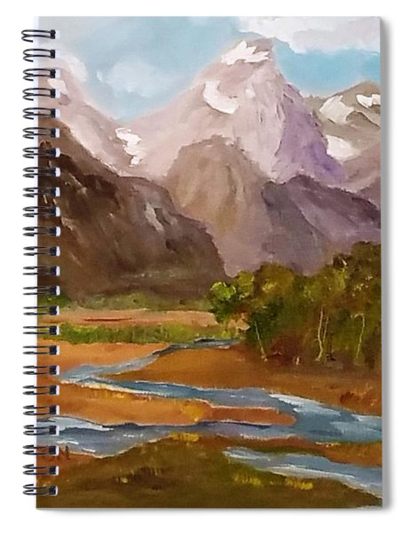 Spring In The Tetons Spiral Notebook