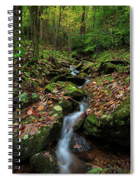 Mountain Stream - Blue Ridge Parkway Spiral Notebook
