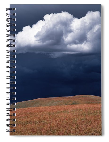 Mountain Thundershower Spiral Notebook