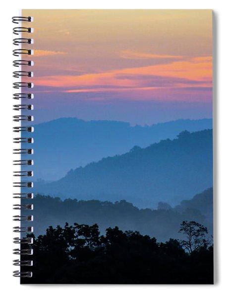 Mountain Tide Spiral Notebook