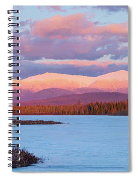 Mountain Views Over Cherry Pond Spiral Notebook