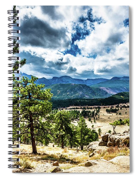 Mountains Across The Way Spiral Notebook