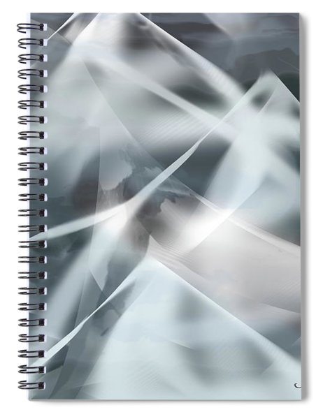 Mountains In The Mist Spiral Notebook