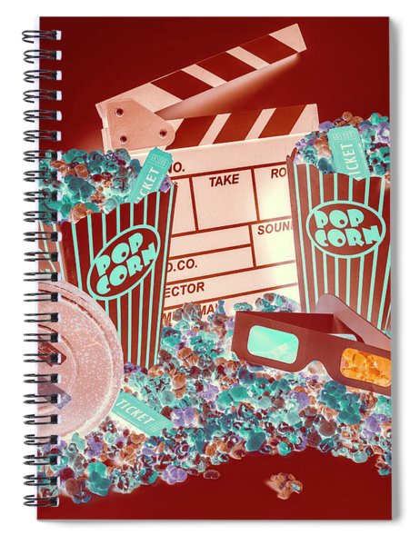 Movie Makers Inc. Spiral Notebook