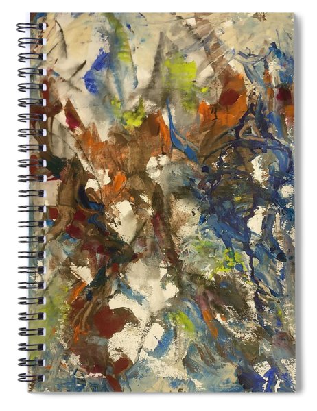Moving Stage Spiral Notebook