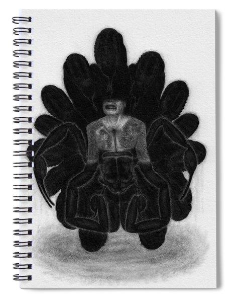 Mr Death - Artwork Spiral Notebook