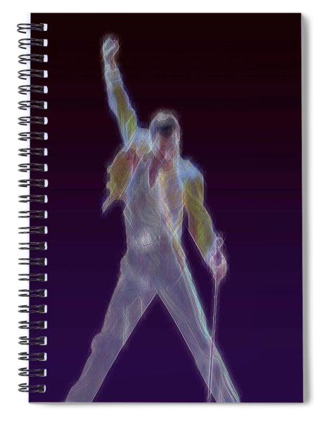 Mr. Fahrenheit Spiral Notebook